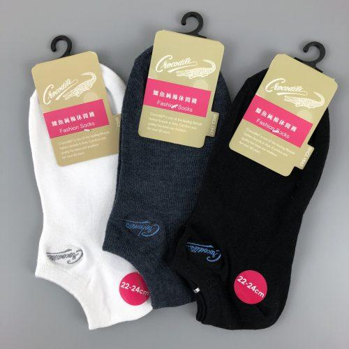 針刺繡船襪