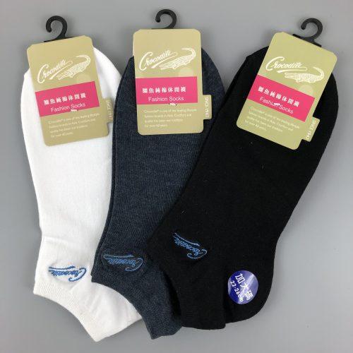 針刺繡船襪(加大)