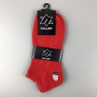 卡拉蜜船型襪- 紅