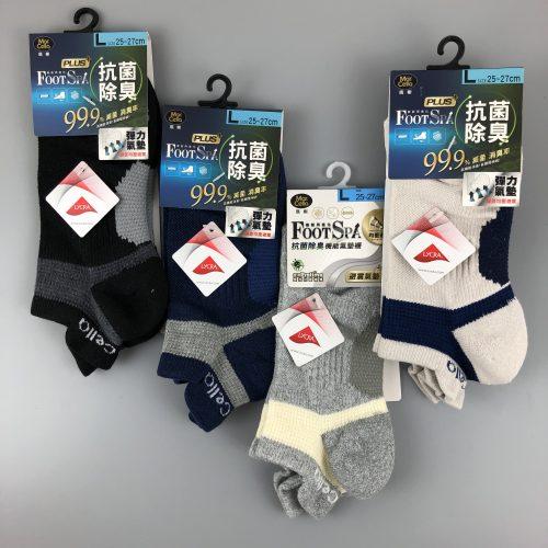 經典抑菌護跟氣墊襪