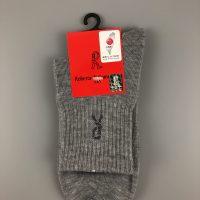 諾貝達運動休閒棉襪- 灰