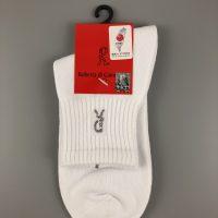 諾貝達運動休閒棉襪- 白