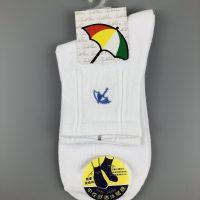 Arnold Palmer 休閒襪- 白