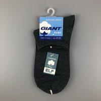GIANT舒適棉襪- 灰