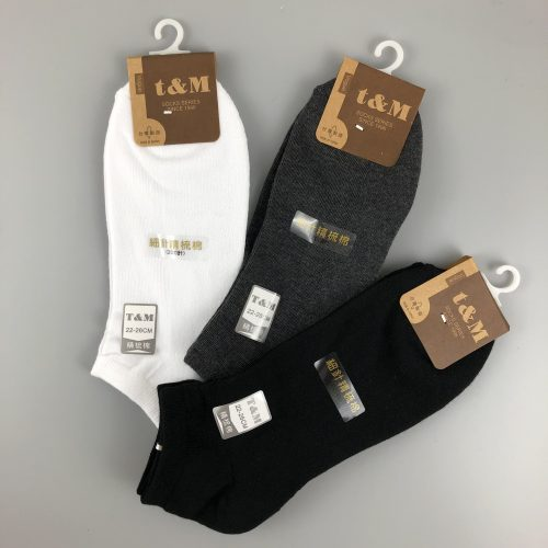 t&M 200細針精梳棉襪