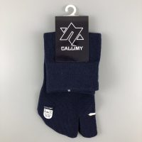 卡拉蜜二趾中筒襪-丈藍